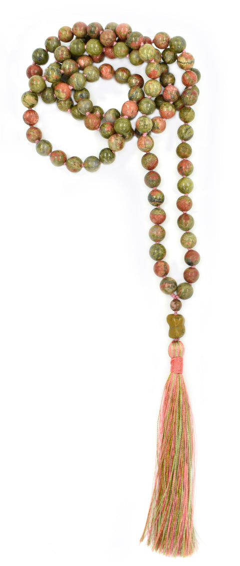 TRUE GROUNDED HEART - Heart Chakra Mala