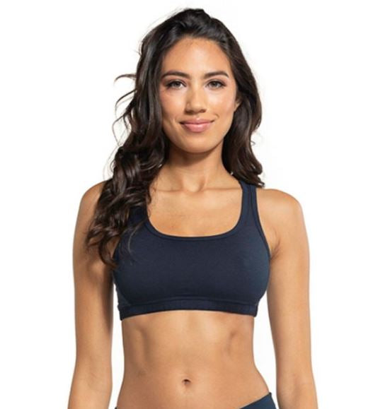 Tonal Strappy Sports Bra - SALE - Pranachic