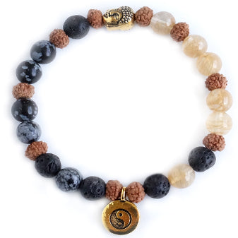 Dawn after Night - Yin Yang Bracelet - Pranachic