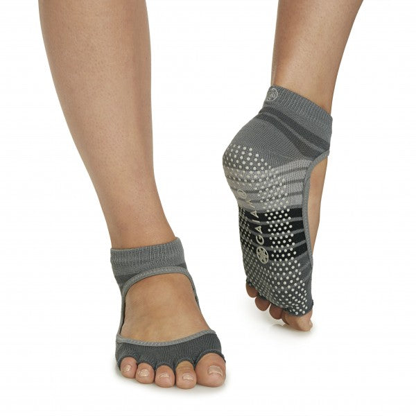 Gaiam Toeless 'Mary Jane' Yoga Socks - Pranachic