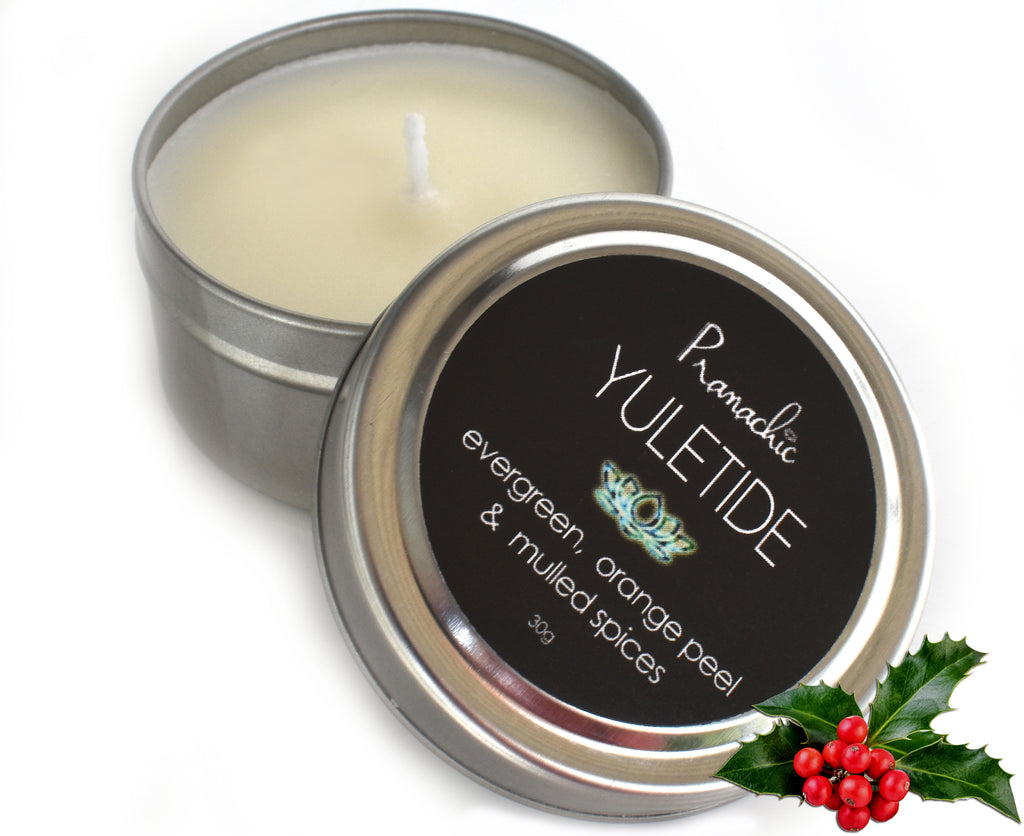 YULETIDE - Special Seasonal Small Travel Candle