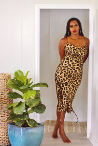 LALA LEOPARD DRESS