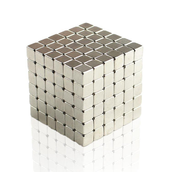 Original 216pcs Nickel Buckycubes Magnetic Blocks Cubes Building