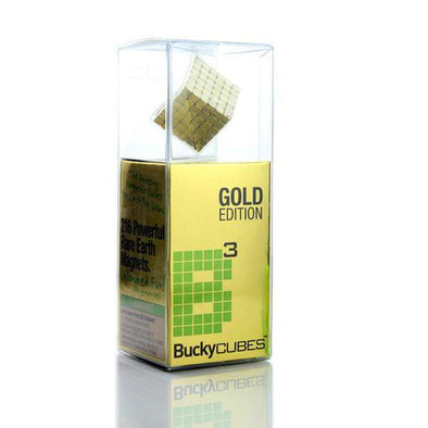 Original 216pcs Gold Buckycubes Magnetic Blocks Cubes Building T - BuckyballsStore