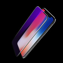 Load image into Gallery viewer, High Definition Anti Blue Light 0.23mm 4D Curved Tempered Glass for iPhone X