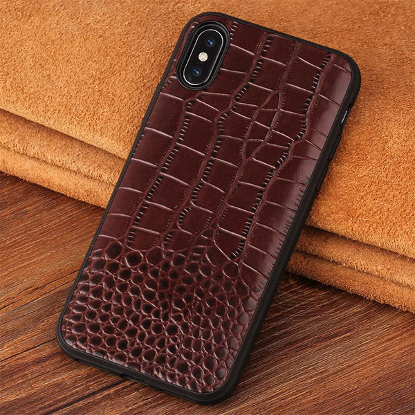 Ultra-thin Genuine Leather Silicone Case For iPhone XR/XS/X(BUY 2 TO GET 10% OFF)