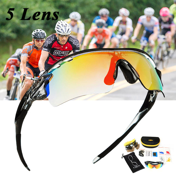 Outdoor Sports Bicycle 5 Lens Polarized Cycling Sunglasses(BUY 2 TO GET 10% OFF)