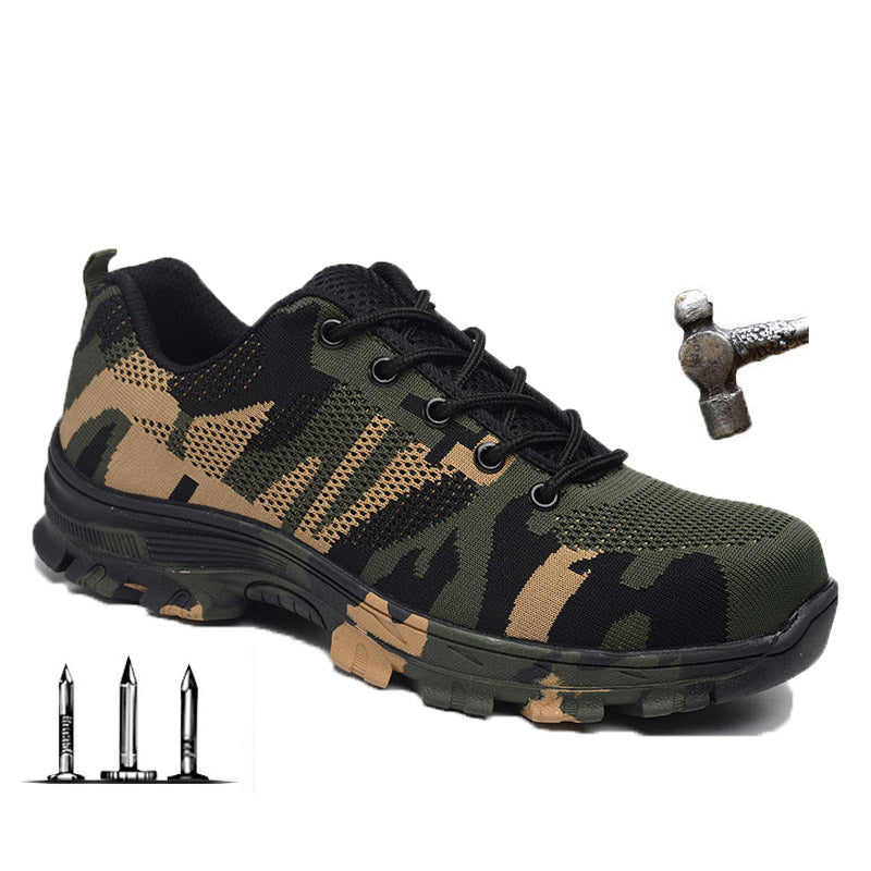 Construction Men's Steel Toe Camouflage Work & Safety Boots(BUY 2 TO GET 10% OFF)