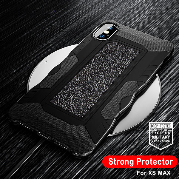 Luxury Shockproof Military Armor Case For iPhone XS MAX/XR/X(BUY 2 TO GET 10% OFF)