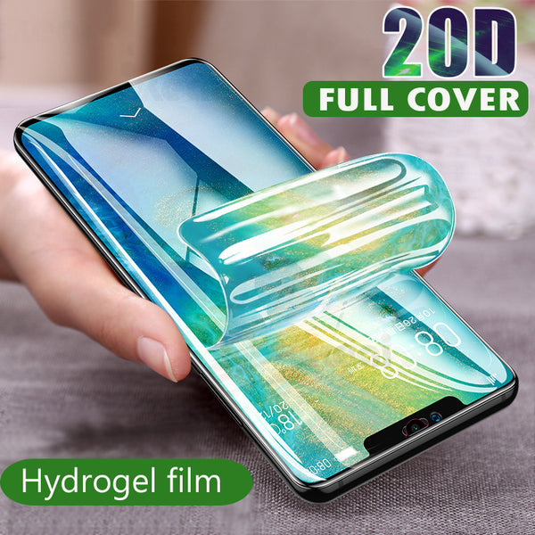 20D Screen Protector Hydrogel Film For Huawei P20 P10 Pro Mate 10 Lite