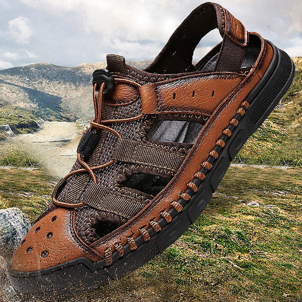 2019 New Outdoor Men Comfortable Handmade Sandals(BUY 2 TO GET 10% OFF)