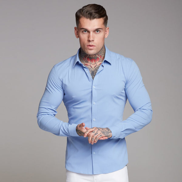 Super Slim Ultra Stretch Classic Long Sleeve Shirt(BUY 2 TO GET 10% OFF)
