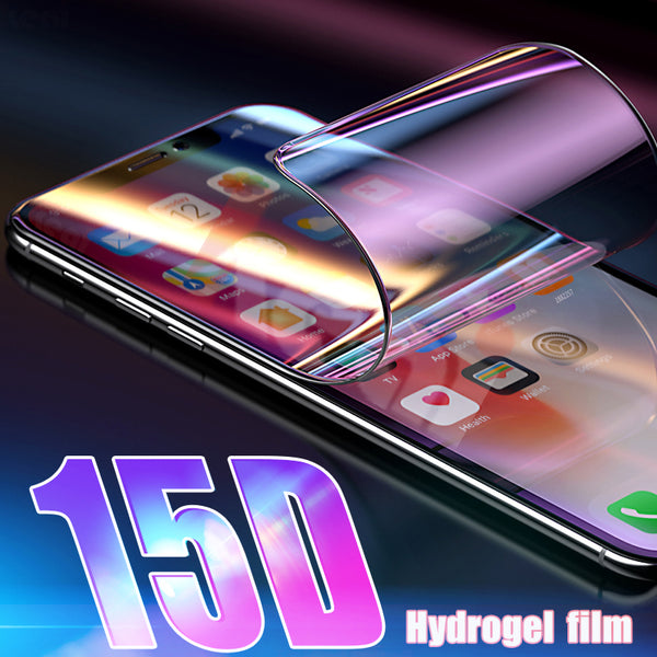 15D Full Cover Soft Hydrogel Film For iPhone XR X XS MAX 6 7 ( Not Glass )