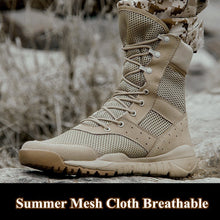 Load image into Gallery viewer, Summer Lightweight Men Mesh Army Combat Boot(BUY 2 TO GET 10% OFF)