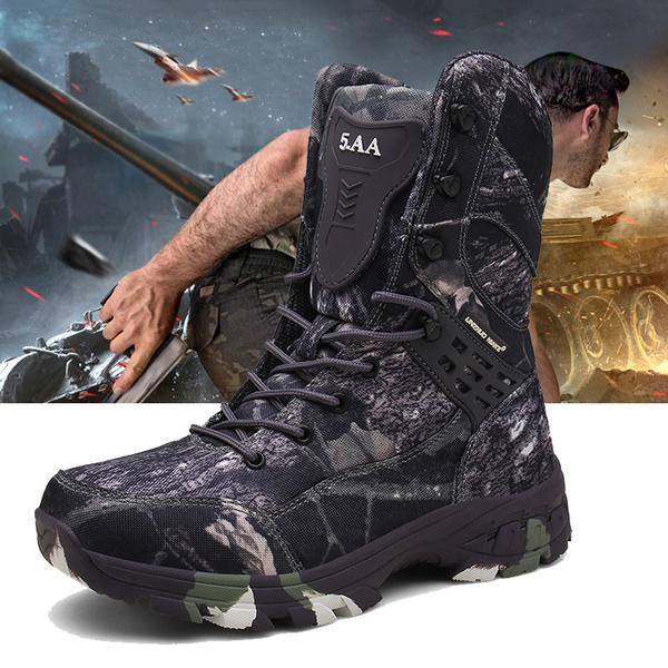 Outdoor Men Camouflage waterproof Work Ankle Boots(BUY 2PCS TO GET 10% OFF)