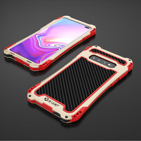 Shockproof Metal Aluminum Silicon Case For Samsung S10/S10+(BUY 2PCS TO GET 10% OFF)