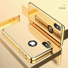 Load image into Gallery viewer, Luxury Ultra Slim Plating Mirror Case For iPhone X 8 7 6 5 + Free Screen Protector Film