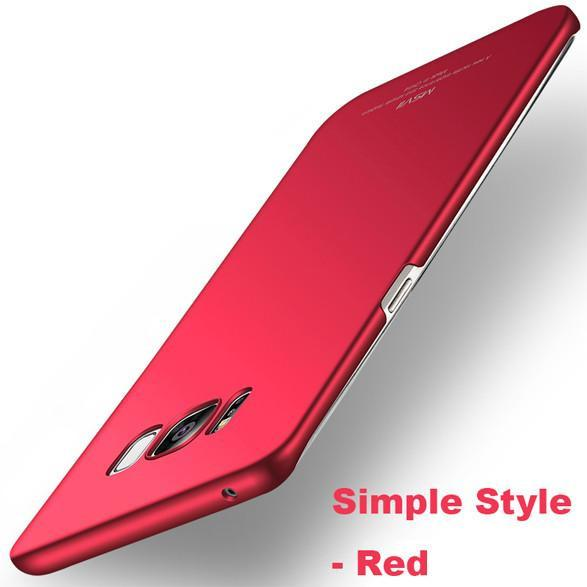 Luxury Slim Silicone Hard Frosted PC Case For Samsung