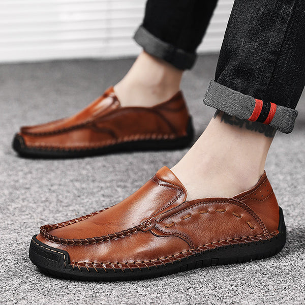 2019 New Men Leather Comfortable Casual Shoes(BUY 2PCS TO GET 10% OFF)