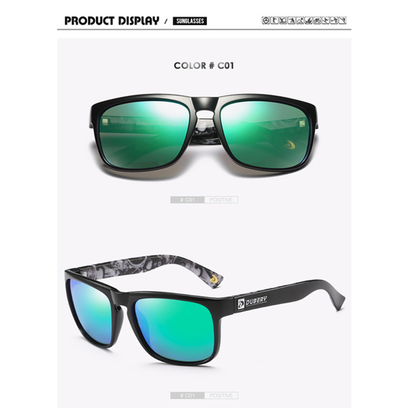 Male Vintage Luxury Mirror Colorful Sun Glasses