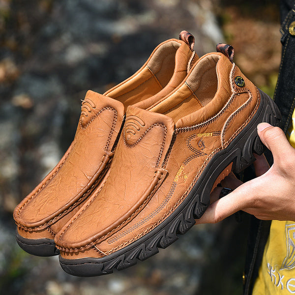 Outdoor Genuine Leather Men Hiking Shoes(BUY 2PCS TO GET 10% OFF)