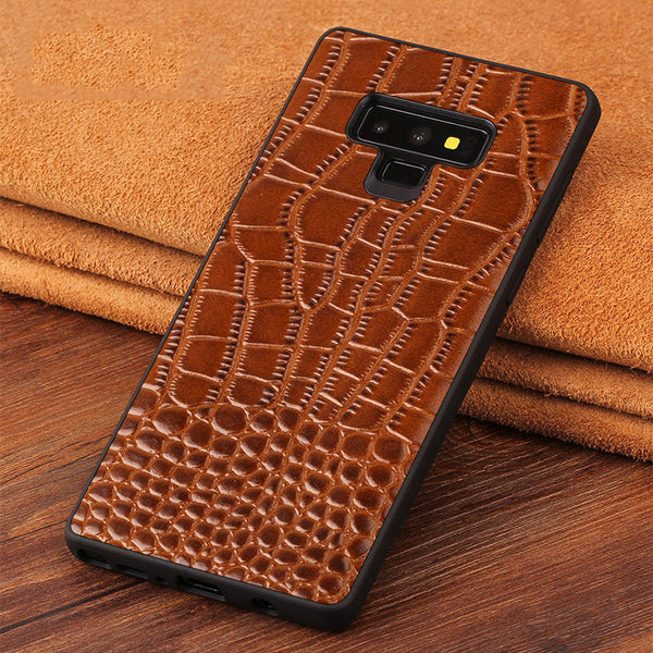 Classic Genuine Leather Silicone Case For Samsung Note 9(BUY 2 TO GET 10% OFF)