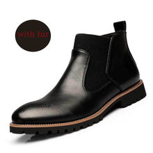 Load image into Gallery viewer, Spring/Winter Fur Men British Style Chelsea Boots(BUY 2 TO GET 10% OFF)