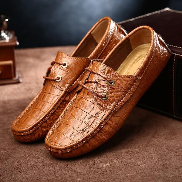 High Quality  Split Leather Mens Shoes