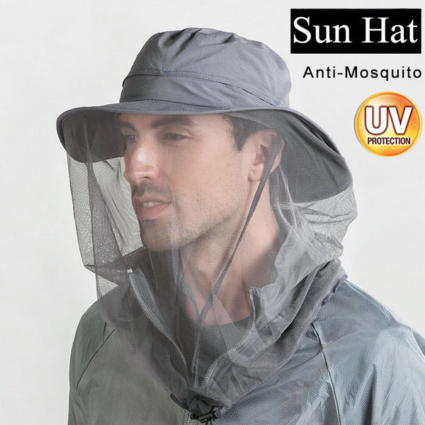 Quick Dry Sunscreen Anti Mosquito Outdoor Fishing Cap(BUY 2 TO GET 10% OFF)