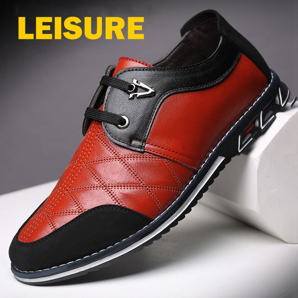 Genuine Leather Men Casual Shoes Plus Size(BUY 2 TO GET 10% OFF)