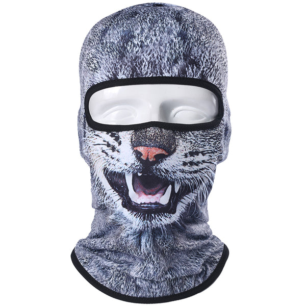 3D Animal Warmer Helmet Liner Bicycle Full Face Mask