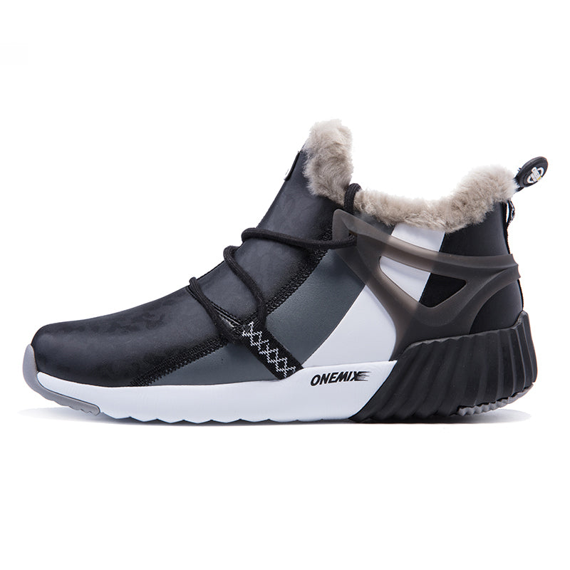 Winter Men's Warm Wool Outdoor Sneakers