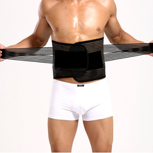 Load image into Gallery viewer, New Style Male Back Support Waist Wrap Abdomen Control Bands