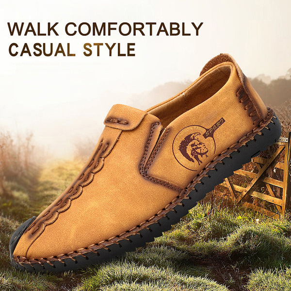 Classic Handmade Split Leather Men Casual Shoes(BUY 2PCS TO GET 10% OFF)