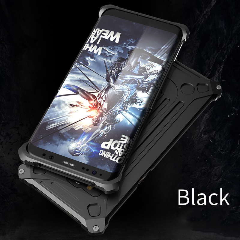 Luxury Metal Frame Armor Protective Case For Samsung S8/S8 Plus