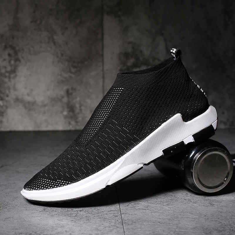 2018 Summer Men Lightweight Slip On Sneakers