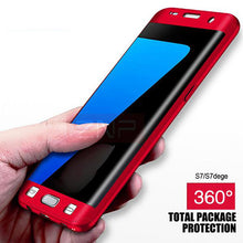 Load image into Gallery viewer, 360 Degrees Full Body Protective Case For Samsung