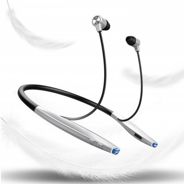 Headset-ZEALOT H7 Slim Bluetooth Headphones With Magnet Attraction With Mic
