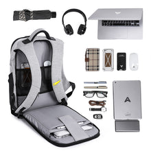 Load image into Gallery viewer, 15.6 inch Laptop Anti theft USB  Male Business Backpack