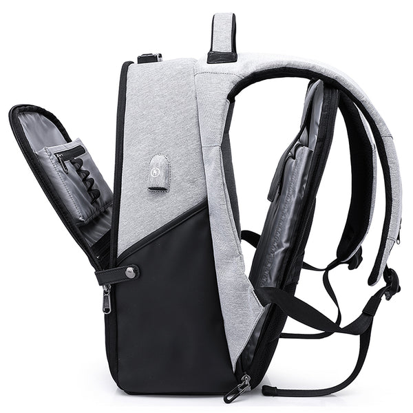 15.6 inch Laptop Anti theft USB  Male Business Backpack