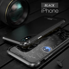 Load image into Gallery viewer, Ultra Thin Shockproof Metal Frosted Case for iPhone X