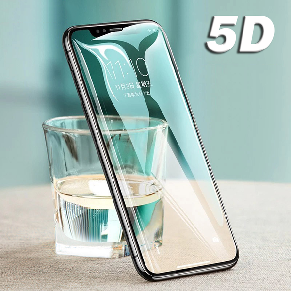 5D Curved Full Cover Tempered Glass For iPhone X glass 8 7 6S Plus