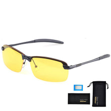 Load image into Gallery viewer, Night Vision Anti-Glare Men Polarized Driving Sunglasses