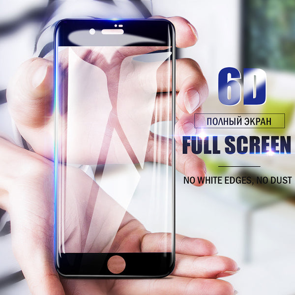 6D Full Cover Curved Tempered Glass For iPhone 7/8/6 Plus(BUY 2PCS TO GET 10% OFF)