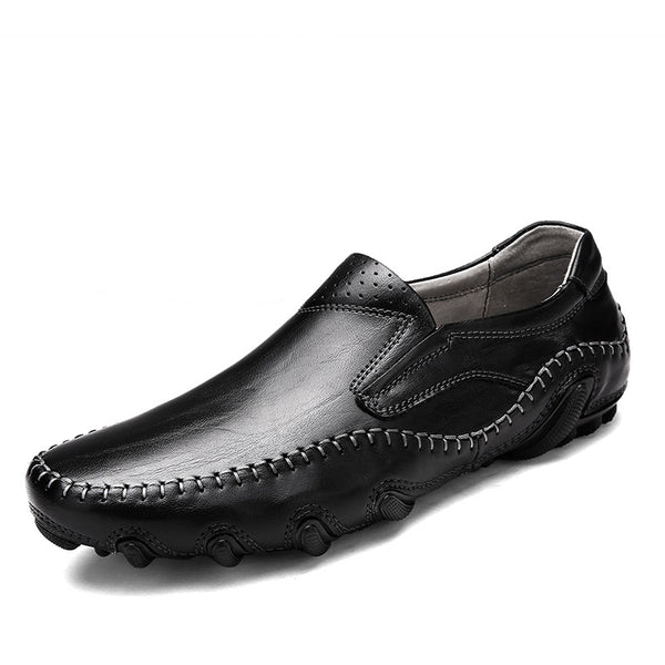2018 New Summer Soft Breathable Men Driving Loafers