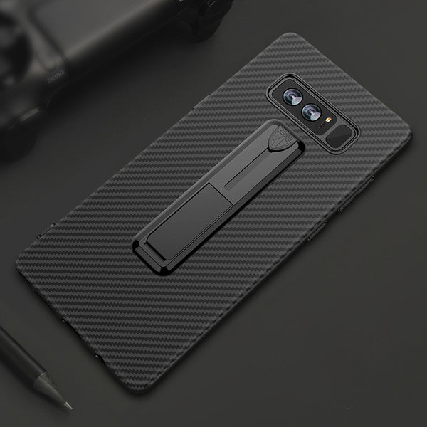 Soft Silicone Ring Holder Case for Samsung Galaxy Note 8