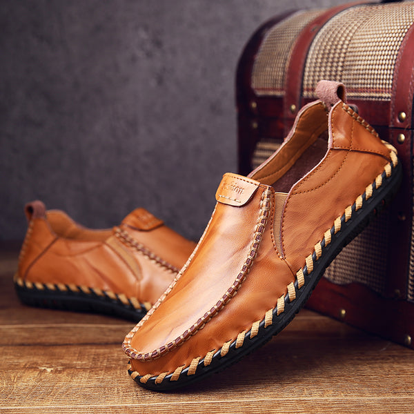 2018 Fashion Men's Handmade Leather Casual Shoes(BUY 2PCS TO GET 10% OFF)