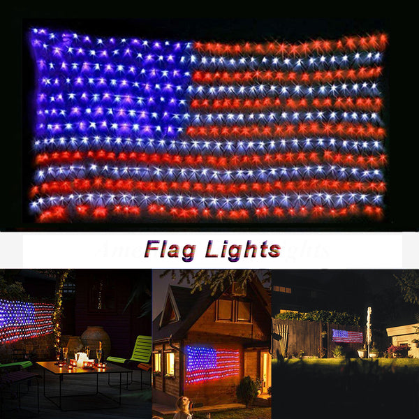 Waterproof LED Flag Light For Halloween Christmas Decoration