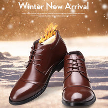 Load image into Gallery viewer, Winter Men Dress Boots Keep Warm Formal Shoes