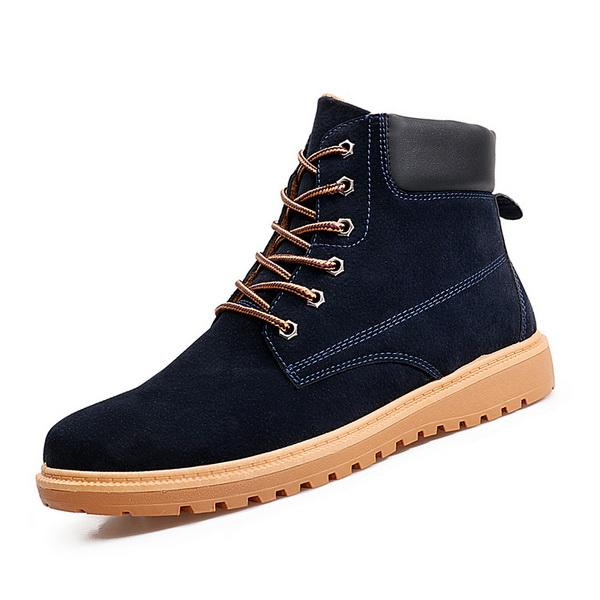 Fashion Suded Leather Man Shoes